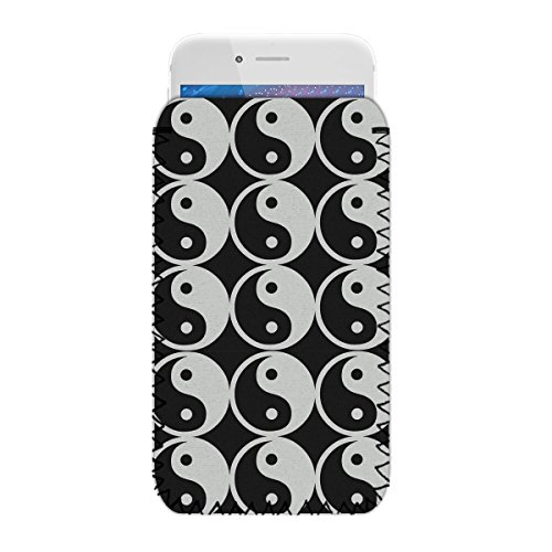 Yin Yang - Funda Protectora de Neopreno para teléfono BLU Dash L3 (L) – Resistente a Golpes y al Agua, Funda, Bolsa, Deslizamiento, envío rápido