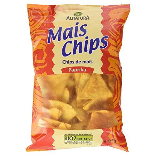 Alnatura Bio Mais Chips Paprika, 125g