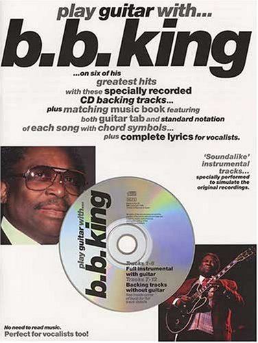 Partition : King B.B. Play Guitar With + Cd