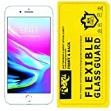 Roxel Front and Back Unbreakable Hammer Film Glass Screen Protector [ Better Than Tempered Glass ] Compatible Apple iPhone 8 Plus (Silver, 256 GB)