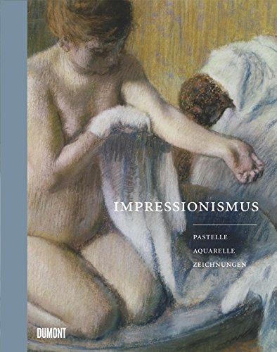Impressionismus: Pastelle Aquarelle Zeichnungen
