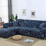 ASCV Funda de sofá con patrón geométrico para sofá seccional en Forma de L Funda de sofá Toalla de sofá Fundas de sofá para Sala de Estar A6 1 Plaza