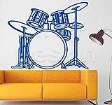 Diseño del arte decoración del hogar kit de batería de vinilo barato...
