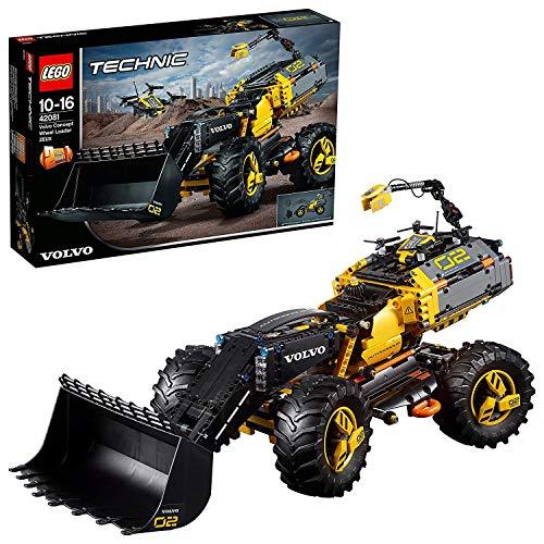 LEGO Technic - Prototipo Volvo de Cargadora con Ruedas ZEUX, Juguete de Construcción de Vehículo (42081)