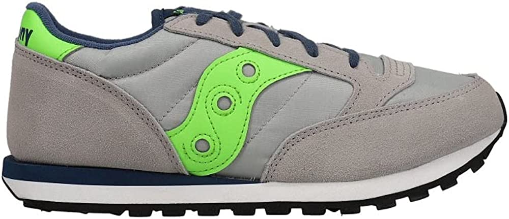 Saucony Kids Boys Jazz Original Lace Up - Sneakers Shoes Casual - Blue - Size 12.5 M