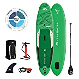AM AQUA MARINA Stand Up Paddle Board aufblasbar im Set Breeze 2021 iSUP 9'10'' Stand-Up Paddling SUP-Board 300 x 76 x 12 cm