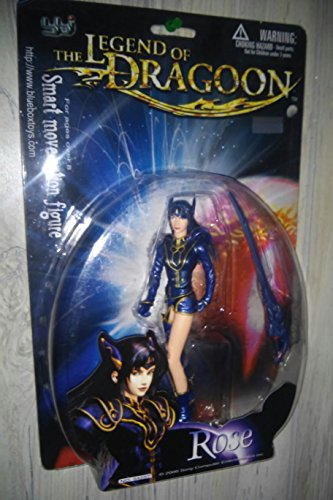 The Legend of the Dragoon: Rose, 6 1/2 Smart Move Poseable Action Figure by The Legend of the Dragoon