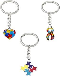 autism awareness keyring