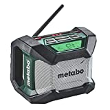Best Worksite Radios - Metabo 600777520 12V/18V Bluetooth Cordless Worksite Radio Review