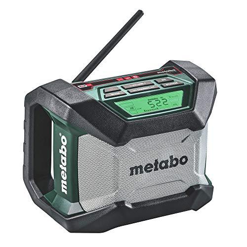 Metabo 600777520 12V/18V Bluetooth Cordless Worksite Radio
