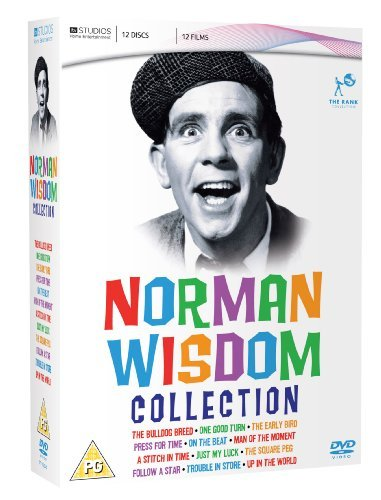 Norman Wisdom Collection - 12-DVD Box Set ( The Bulldog Breed / One Good Turn / The Early Bird / Press for Time / On the Beat / Man of the Moment / A Stitch in [ UK Import ]