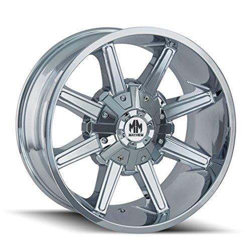 MAYHEM ARSENAL CHROME Wheel (20 x 10. inches /8 x 180 mm, -19 mm Offset) -  8104-2178C