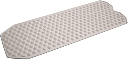 No Suction Cup Bath Mat, Made in Italy - Safe for All Ages - Bath mat for refinished tub