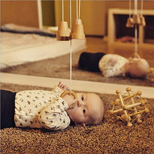Best Review Of ELYSIA Wooden Bell Chimes Mobile - Essential Montessori