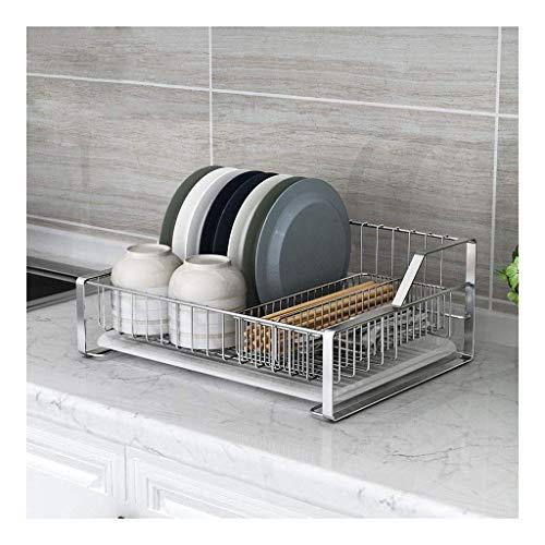 Schappen afwasmachine met afdruipplaat verwijderbare bestekhouder 304 roestvrij staal met lepel vork mand 44 * 33 * 17cm bloempot Rek XIUYU
