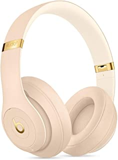 Beats S.t.u.d.io_3 Wireless Headphones Skyline Collection with Carrying Case,3.5mm RemoteTalk Cable and Universal USB Charging Cable (Desert Sand)