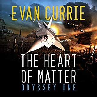 The Heart of Matter                   Written by:                                                                                                                                 Evan Currie                               Narrated by:                                                                                                                                 David de Vries                      Length: 14 hrs and 23 mins     1 rating     Overall 5.0