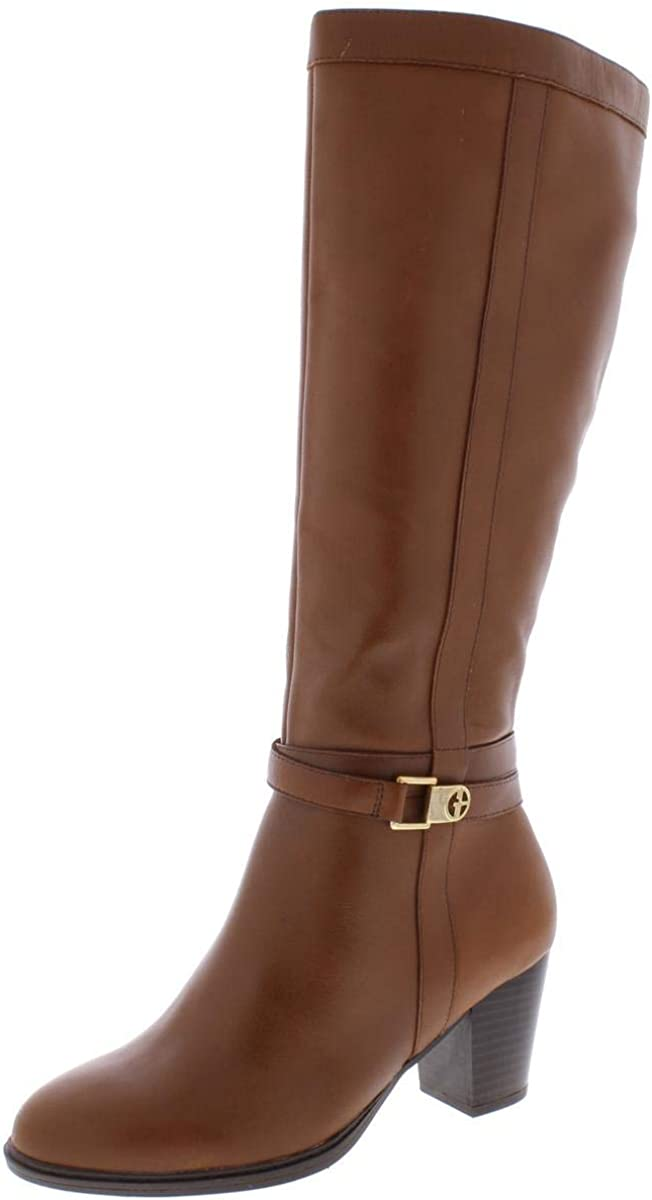 Giani Bernini 2021new shipping free Womens Rozario Leather Closed Toe Fashio Super special price High Knee