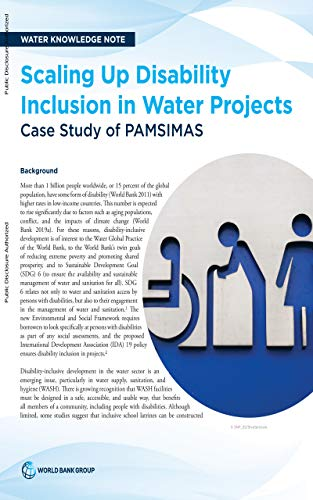 Scaling Up Disability Inclusion in Water Projects : Case Study of PAMSIMAS (English...