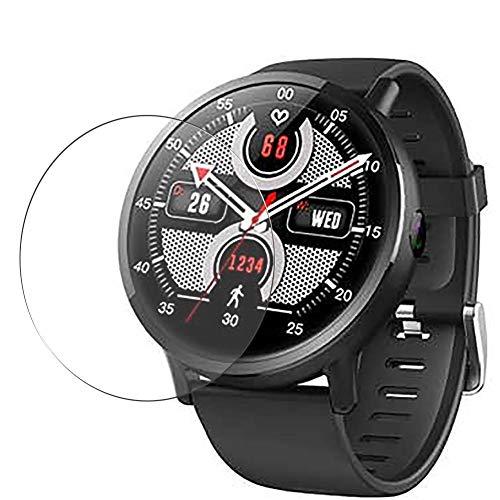 Vaxson 3 Unidades Protector de Pantalla de Cristal Templado, compatible con Makibes G3 Smartwatch smart watch, 9H Film Guard Película Protectora [No Carcasa Case ]