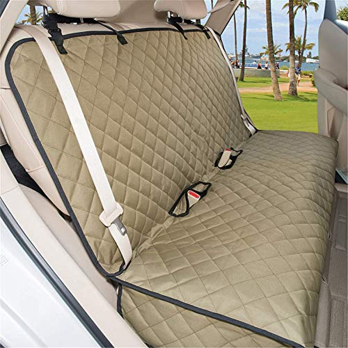 VIEWPETS Bench Car Seat Cover Protector - Waterproof, Heavy-Duty and Nonslip Pet Car Seat Cover for Dogs with Universal Size Fits for Cars, Trucks & SUVs (Sage Green)