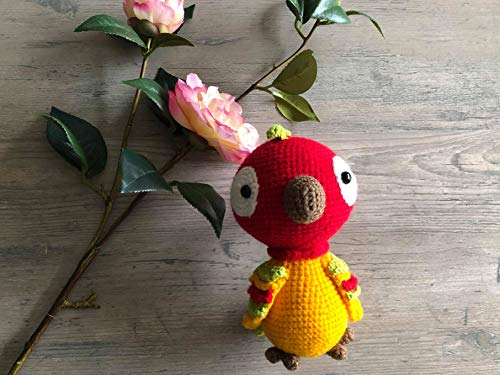 Crochet Parrot