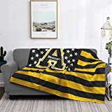 Appalachian State University Ultra Soft Blanket Warm Cozy Fluffy Air Conditioner Quilt Luxury Sofa Blanket Office Blanket