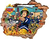 Feuerwehrmann Sam Tapete Aufkleber 56?cm x 62?cm Kids