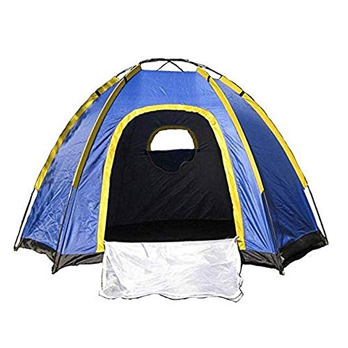 XIUYU Camping Tent, Outdoor 3-4 People Camping Tent, Camping Travel Mountain Climbing Tent 2400 X 2100 X 1300mm