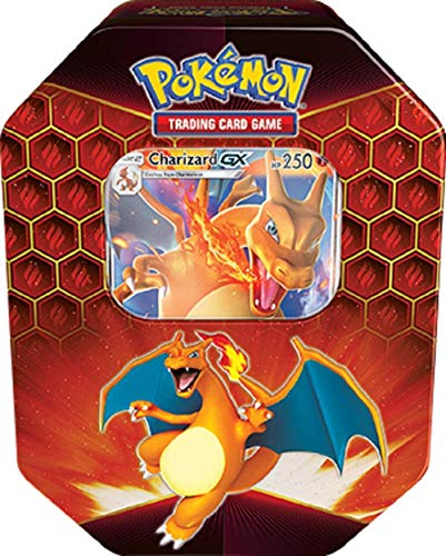 Pokemon Hidden Fates Charizard GX Collectors Tin |Inc Booster Packs & Promo...