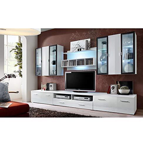 Ensemble TV - 4 éléments - Blanc