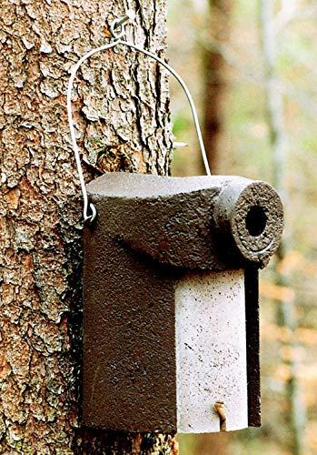 Schwegler Naturschutzprodukt Nisthöhlen Nistkasten Vogelhaus Typ 3SV Flugloch 34 mm mit Marderschutz Satz 2 Stück