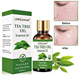 Tea Tree Essential Oil for Face Hair Nail Acne Lice,100% Natural Premium Melaleuca Therapeutic Grade...