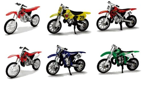 New Ray Cross 06947-06143-06017 - Modelo para Moto, Multicolor, 0093577061437