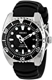 Seiko Men's SKA413 'Adventure' Stainless Steel Kinetic Diver Watch