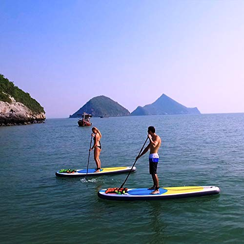 Product Image 5: 10' Inflatable Stand Up Paddle Board / Kayak And SUP! (6 Inches Thick, 32 Inch Wide Stance Width) |11-Piece Accessory Set That Includes Convertible Paddle, Kayak Seat, Travel Backpack, And More!