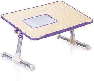 HXCD Table Pliante Table pour Ordinateur Portable légère, Support pour Ordinateur Portable Plateau de lit pour Ordinateur ...