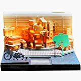 3D Memo Pad with Pen Holder & Dispenser,Funny Cute Paper Carving Art Notepad DIY Building Block 3D Kawaii Sticky Notes 3D Omoshiroi Memo Pad for Child/Lover/Friends/Wife/Student .