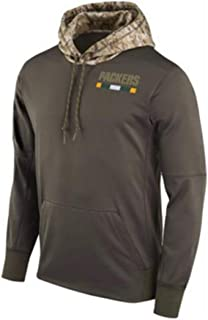 Green Bay Packers Sweatshirt Long Sleeve Jersey 99% Polyester Top American Football Sports Loose Casual Jersey Hoodie,M165~170cm