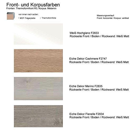 Burgbad Iveo BadMöbel-Set mit Keramikwaschbecken und Spiegelschrank, SFHK 120