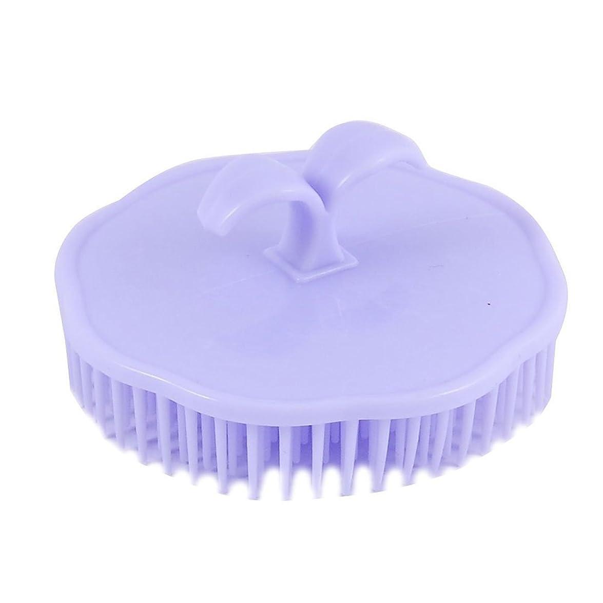 毎日行くSitrda シャンプーブラシ 洗髪櫛 頭皮マッサージ器 マッサージャー プラスチック 携帯用 2個入 色ランダム