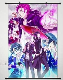 K Project Home Decor Anime Wall Scroll Poster Fabric Painting Yashiro Isana & Kuroh Yatogami 032 L