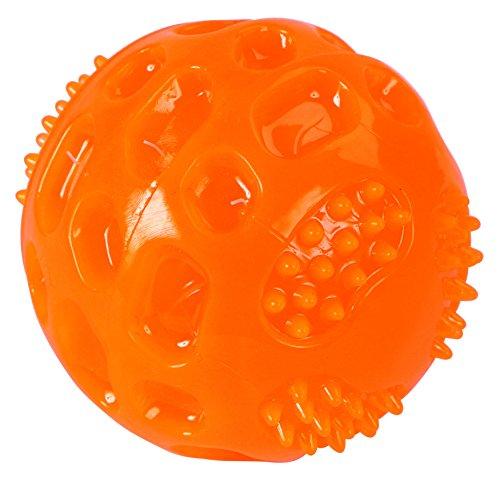 Kerbl Squeaky Balle pour Chien Orange 7,5 cm