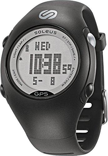 Soleus Mini GPS Fitness Uhr Reloj de Corredor con Monitor de Actividad física y de Salud, Unisex, Azul y Lima