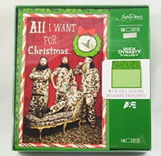 Duck Dynasty Christmas Cards Uncle Si Willie Phil Jase by Joyfully Yours