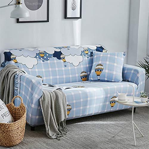 wjwzl Sofabezug für Chaiselongue, rutschfest, elastisch, 1 W