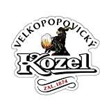 aveand Car Decal Car Sticker 13cm x 11.5cm for Kozel Beer Alcohol Graphics Funny Car Stickers Bumepr Laptop Racing Decals Van JDM Car Wrap