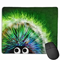 かわいいヤマアラシ マウスパッド 25×30 大判 ノンスリップ 防水 ゲーミング おしゃれ マウスの精密度を上がる