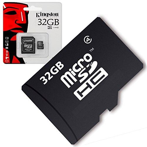 Acce2s - Carte Mémoire Micro SD 32 Go Classe 4 pour Samsung Galaxy J4+ - J6+ - J6 - J7 2017 - J3 2017 - J5 2017 - J3 2016 - J5 2016 - J7 2016 - J1 2016