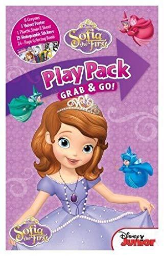 Disney Sofia The First Grab and Go Play Pack Buena diversión para niñas